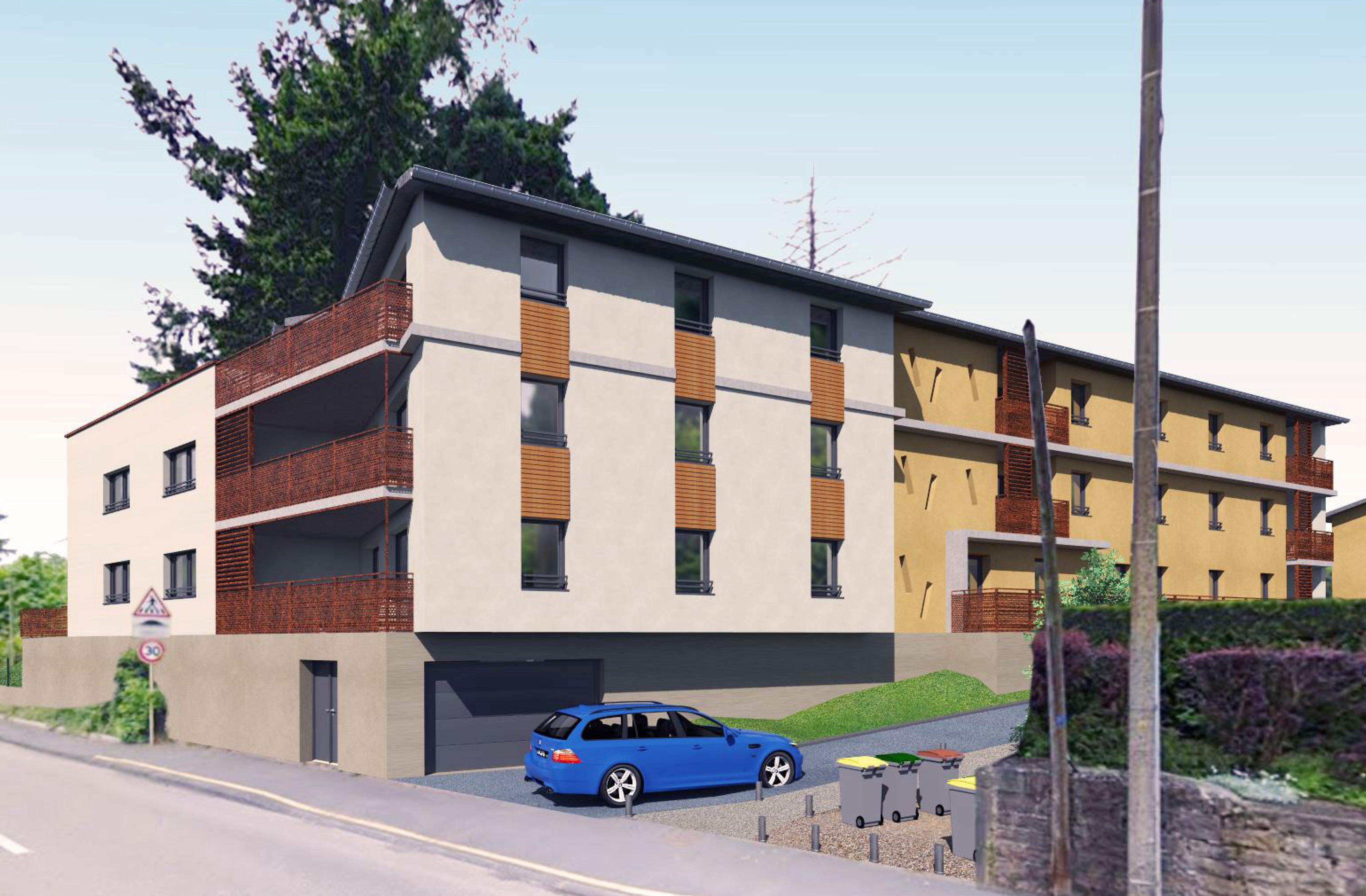Construction collective 20 logements pour HBVS Mâcon